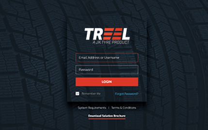 TMass web for tyre performance monitoring | TREEL Mobility
