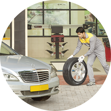 Steps for Tyre Replacement   TREEL Mobility