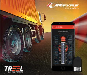 Jk Tyre Forays into the World of Connected