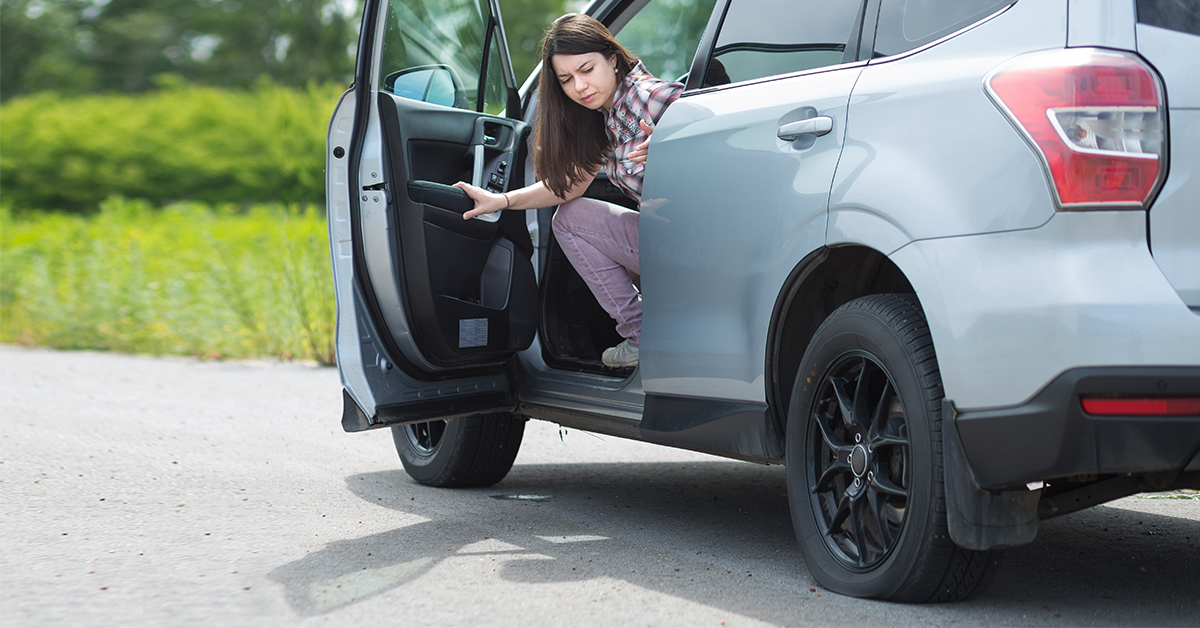 why you should avoid driving with an over or under inflated tyre